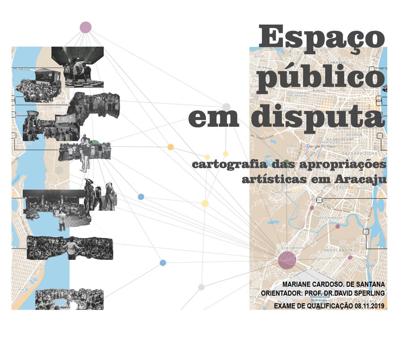 Espaço Público em disputa: cartografia das apropriações artísticas em Aracaju