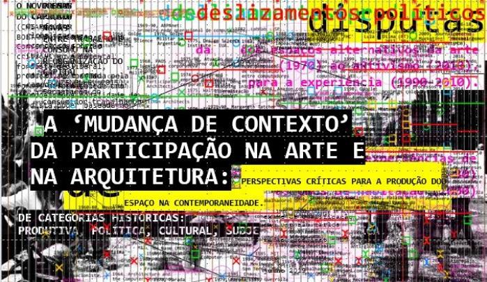 A 'mudança de contexto' da participação na Arte e na Arquitetura: perspectivas críticas para a produção do espaço na contemporaneidade